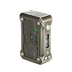 ▶Tesla Punk 220W Big Power Box is a New Cool TC MOD with Unique Punk Style, With Unique RGB LED Flash Mode,Power Saving,Durable,Life Long, Suitable all 510 Thread Atomizer,Easy to Adjust the Power to Adapt the Coil Resistance ▶Made of Zinc Alloy, ABS...