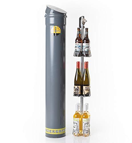 BIERSAFE WEINSAFE Wein- und/oder Bier-Flaschen Garten- Natur-Kühlschrank/Getränke-Kühler, Kühl-Gerät ohne Strom