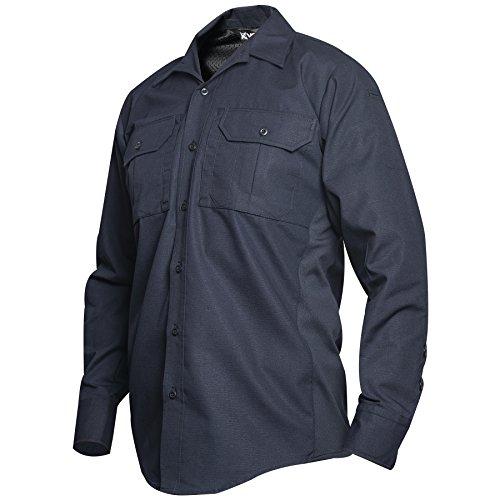 Vertx Men' s Phantom LT Camicia a Maniche Lunghe, Uomo, VTX8120, Navy, Large/Corto