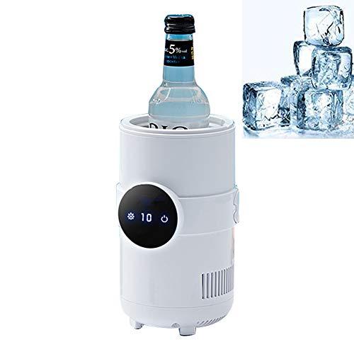 LG&S 2 In 1 Auto Schnelle Kühlung & Heizung Tasse Tragbare One Button DC 12 V Mini Getränkekühlschrank & Wärmer Maschine