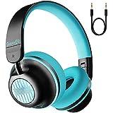 OneOdio ヘッドホン ワイヤレスヘッドフォン S2 オンイヤー ANCヘッドホン Bluetooth 5.0 CVC 8.0 ヘッドセットAAC対応 有線 ワイヤレスヘッドフォン 25時間再生 内向きのマイク HiFi 重低音 高音質