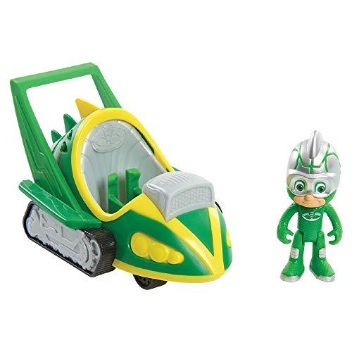 Giochi Preziosi Pj Masks Geco Veicolo Speed Booster, Multicolore, PJM60100
