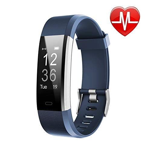commercial Lintelek Fitness Tracker with Heart Rate Monitor, Activity Tracker with Connected GPS, IP67… fitness tracker for weight watchers