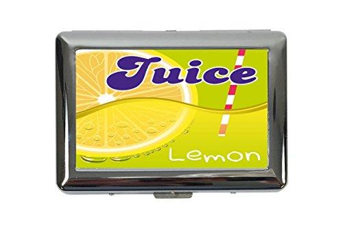 Zigarettenetui Box Retro Limonade Küche Zitronen Saft Bedruckt