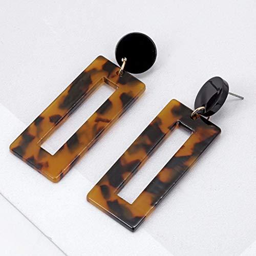 Jovono Leopard Print Ohrringe Fashion Ohrring Schmuck für Damen und Mädchen