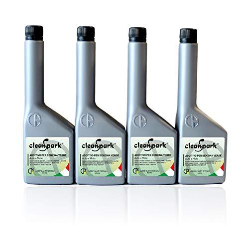 500 ML (4 botellas de 125 ml) CLEANSPARK aditivo multifuncional para motores de gasolina (vehículos y motocicletas)