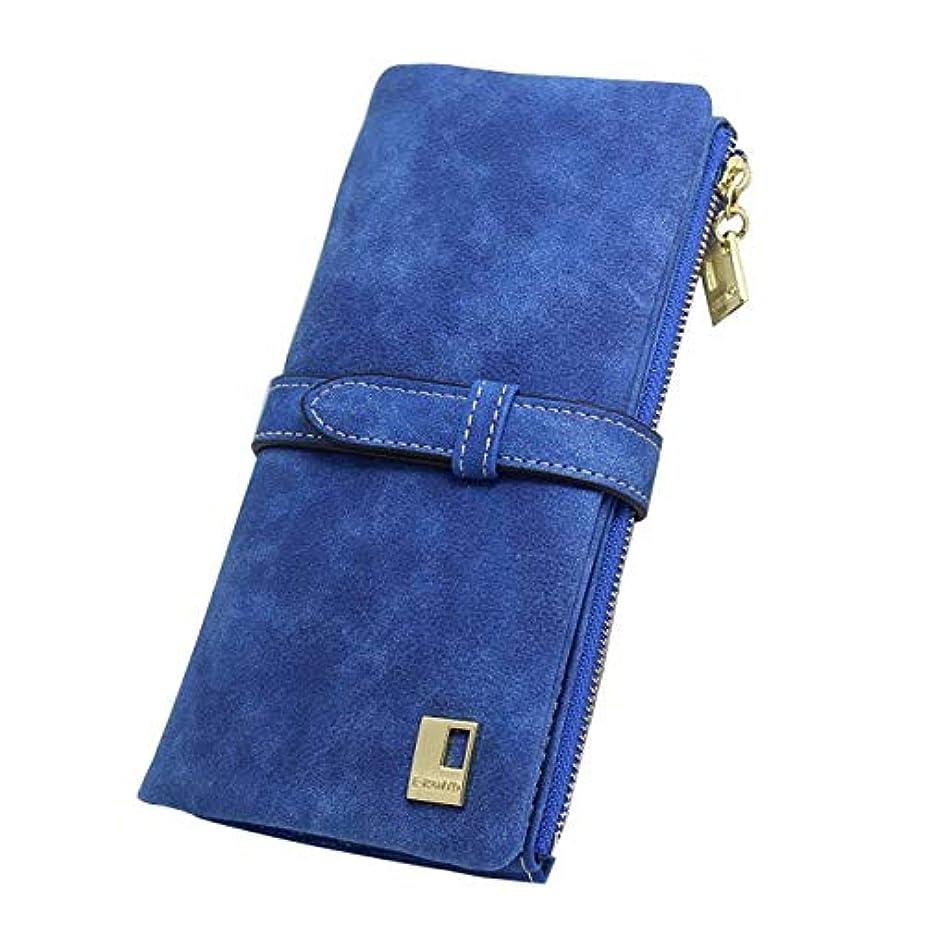 ウミウシ乙女変えるTFTP 女性財布ファッショントレンドポンピングつや消しマルチカード pu レザー 2 倍財布女性さんロング財布カードレディースバッグ