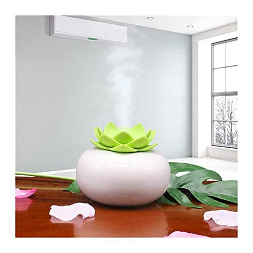 WDZJM Humidificador Creativo Máquina de aromaterapia humectante silenciosa Spray Grande Hidratante Fino Hogar o Coche (Color : Green)