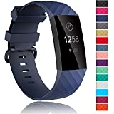 Velavior Waterproof Bands for Fitbit Charge 3 / Charge3...