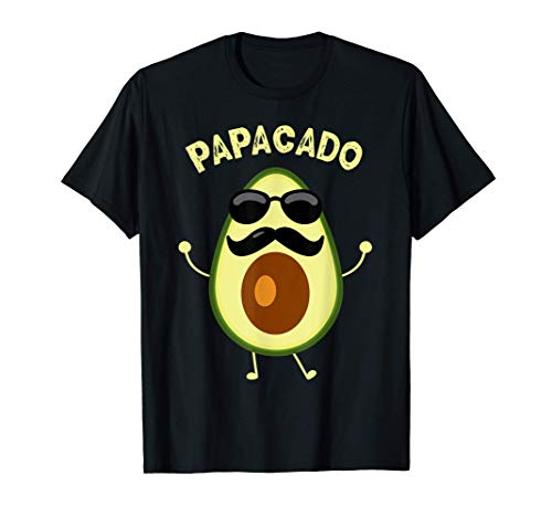 Avocado Lustige Papacado Papa Halloween-Paare Kostüm Vater T-Shirt