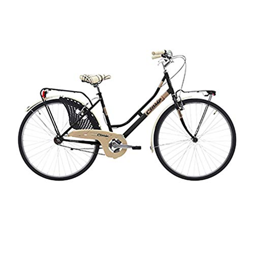 Bicicleta City Bike 26 CINZIA FRIENDLY de acero para mujer, talla 44
