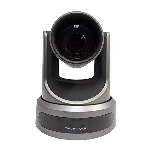 PTZOptics Live Streaming Cameras - PTZ Cameras with SDI, HDMI and IP Control + PoE (30X-SDI, Gray)