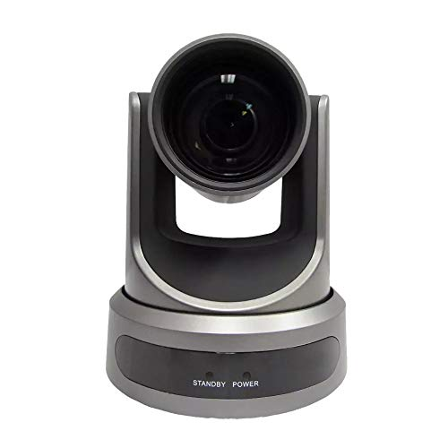PTZOptics Live Streaming Cameras - PTZ Cameras with SDI, HDMI and IP Control + PoE (30X-SDI, Gray)