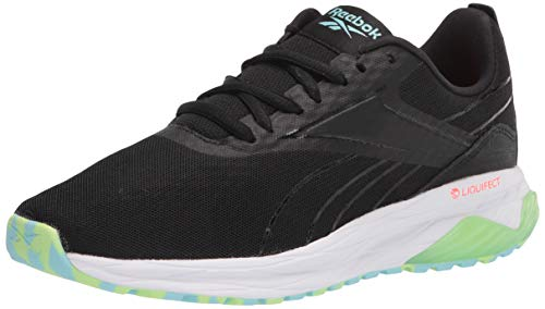 Reebok womens Liquifect 180 2.0 Running Shoe, Black/Neon...