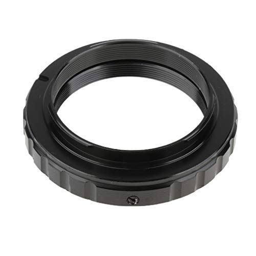 D DOLITY Metall T2 T Mount - Anillo Adaptador de Objetivo para cámara réflex Digital Nikon SLR, Color Negro