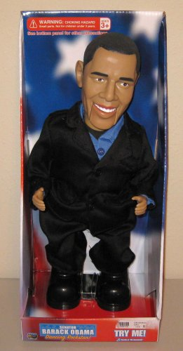 Senator Barack Obama Dancing Doll