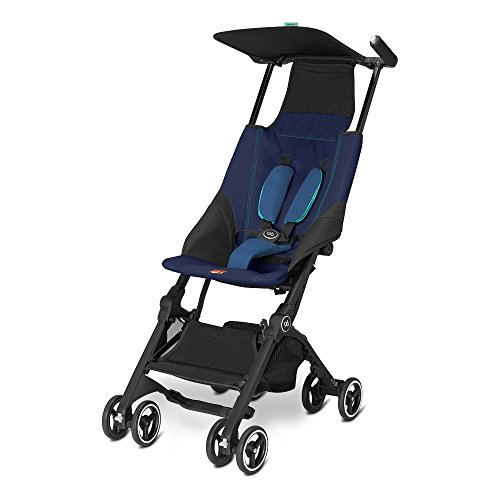 Gb Gold Pockit Buggy, sea port blue