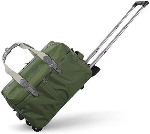 Carretilla - Bolsa Plegable portátil Impermeable - Bolsas a Granel (Color : Green, Size : Small)