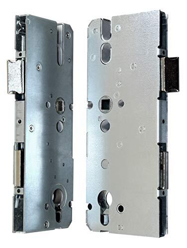 KFV Reparatur Schlosskasten Hauptschloss AS 8092 Dornmaß: 65mm (62mm) / Entfernung 92mm, incl. SN-TEC Montagematerial zum Schrauben und Nieten & SN-TEC Montageanleitung