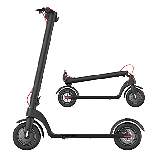 Patinete Eléctrico, 350W E-Scooter plegable para adultos con pantalla LCD, Sistema de...