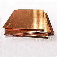 Lcuihong-金属テープ 純銅Cu金属100 * 100mm、200 * 200mm、300 * 300mm、99.9%銅板T2銅板、 高純度金属板 (Color : 100x100x3mm)