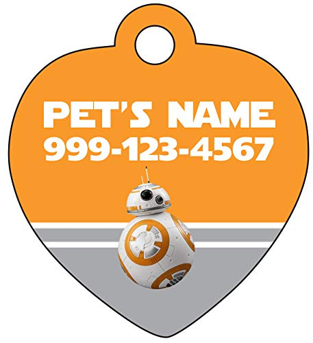 BB-8 Pet Id Tag for Dogs & Cats | Personalized for Your Pet