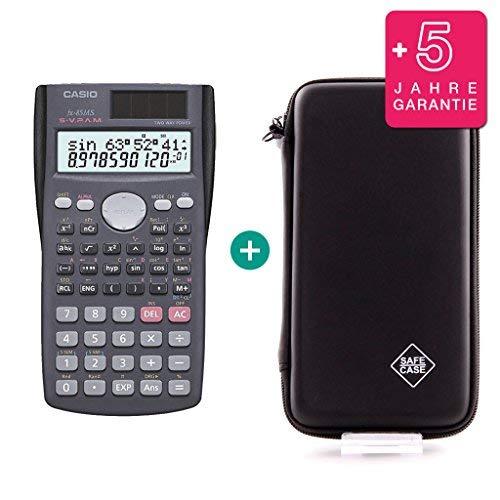 Casio FX-85MS + Schutztasche + Erweiterte Garantie