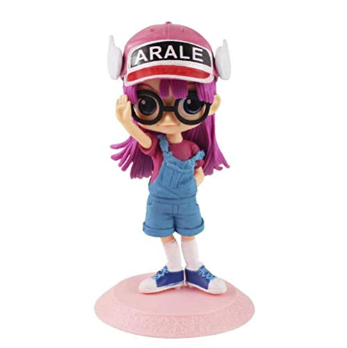 14cm Figuras de Anime Q Posket Dr. Slump Arale Modelo de PVC Muñeca de Juguete Regalo de cumpleaños para niños