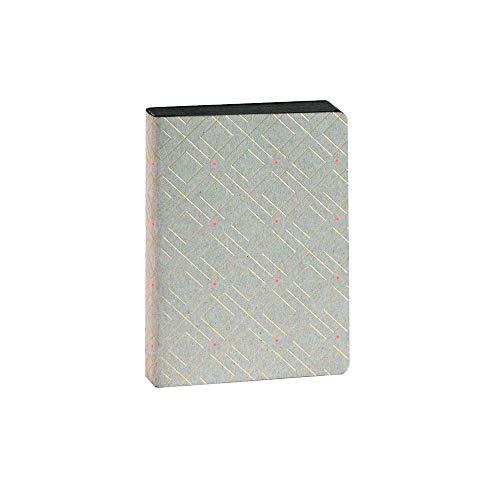 ARTEBENE Notizbuch Notizheft Schreibheft Schreibbuch A6 Muster Gold Neon