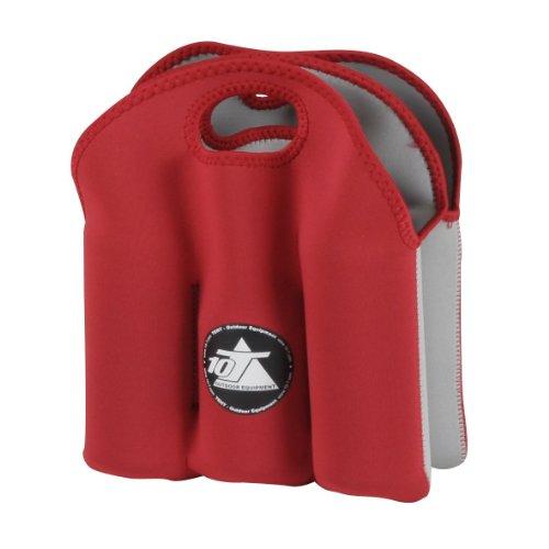 10T Cooler BC 6 - Neopren Dosen- und Flaschen-Kühler max. 6x 500ml mit Tragegriff