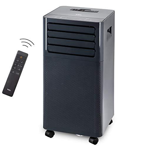TCL lokales mobiles Klimagerät 7000 BTU Klimaanlage Klima Abluftschlauch R290 spacegrau