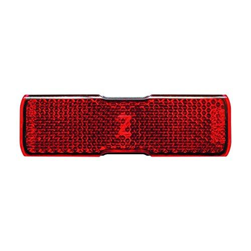 Busch & Müller Unisex– Erwachsene 2026163600 Rückstrahler, rot, 11 x 2 x 2 cm