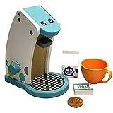 TikTakToo Kaffeekanne Kaffeemaschine Kinderkche Zubehr Spielkche Holzspielzeug