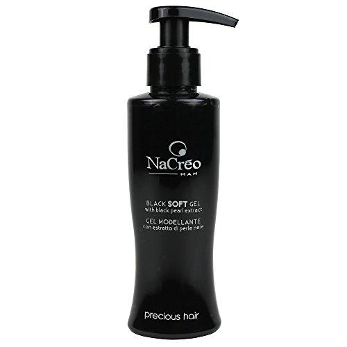 NaCréoMan graue Haare abdeckende soft schwarz Haargel - 150 ml