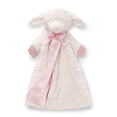 Baby GUND Winky Lamb Huggybuddy Stuffed Animal Plush Blanket
