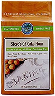 Authentic Foods Steve's Gluten Free Cake Flour Blend, 3 Pound