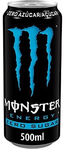Monster Energy Zero Sugar - Bebida energética sin azúcar - lata de 500 ml
