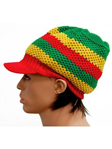 Armardi b Rasta Casquette Rastafari