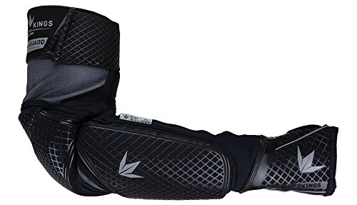 Bunker Kings V2 Royal Guard Elbow Pads - Black (XX-Large (2XL))
