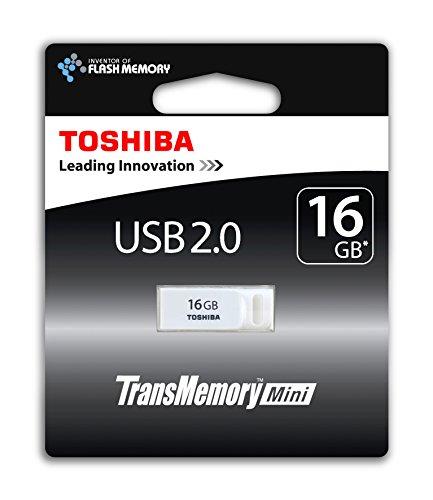 Toshiba TransMemory Mini 16GB USB-Stick USB 2.0 weiß