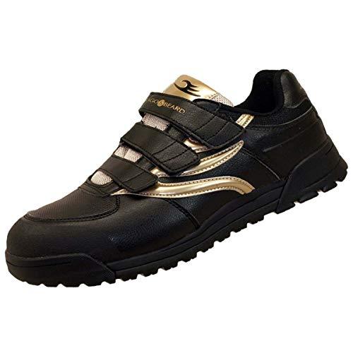 [ドラゴンベアード] DRAGONBEARD 安全靴(DBW-103)【ブラックゴールド/25.5】