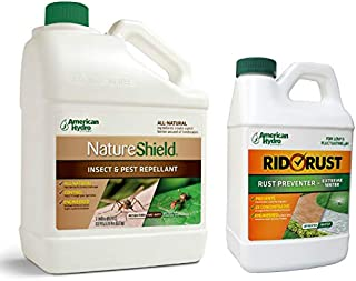 American Hydro Systems Pack, Rid O' Rust Stain Preventer and NatureShield Insect Pest Repellent