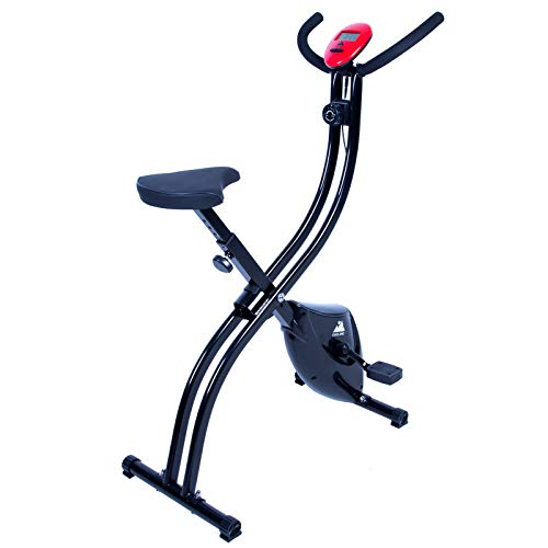EVOLAND Cyclette da Allenamento, Home Trainer Bicicletta da Fitness S-Bike Cyclette Macchine per Training Aerobico Fitness e X-Bike, 120 kg capacità