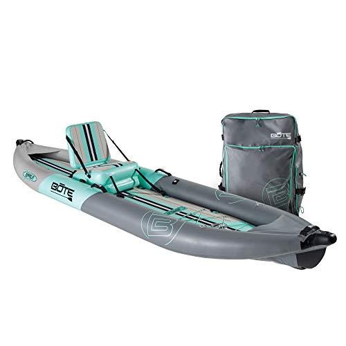BOTE Zeppelin Aero Inflatable Kayak | Tandem Kayak | Kayak for Fishing...