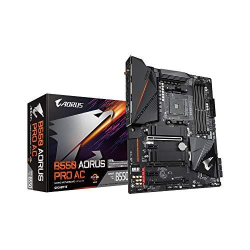 Gigabyte B550 AORUS Pro AC ATX Mainboard Sockel AM4 M.2/HDMI/USB3.2/WiFi/BT
