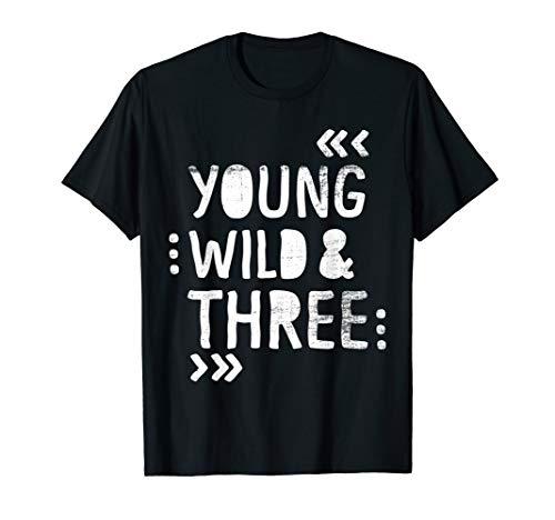 T-shirt zum 3 Geburtstag 3. KinderGeburtstag Junge T Shirt