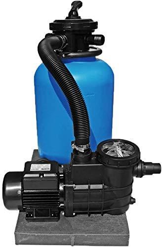 well2wellness® Pool Sandfilteranlage TOP 400 mit Filterpumpe Mida.Pombi 10