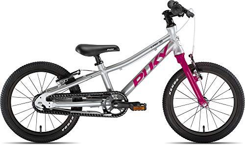 Puky LS Pro 16-1 Alu Kinder Fahrrad silberfarben/Berry