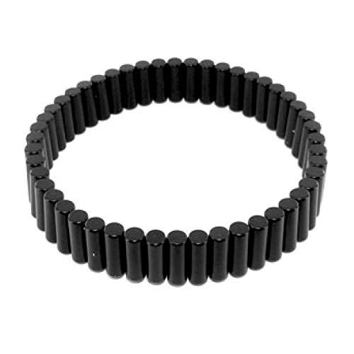 AIMANTIX - Bracelet Magnétique - Soulage les Douleurs, Calme les Fourmillements, Apaise -Taille Ajustable - Pour Homme et Femme - 50 Aimants Puissants - Bijou Magnétique Élégant