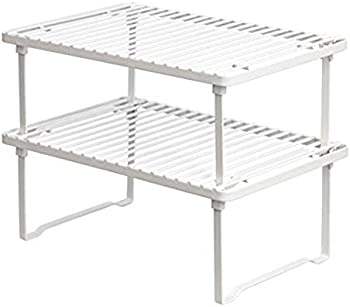 Amazon Basics Stackable Kitchen Storage Shelves